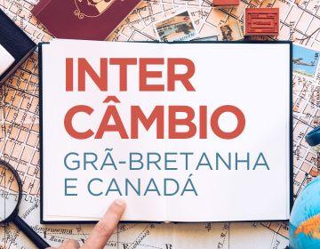 Intercâmbio Grã-Bretanha e Canadá